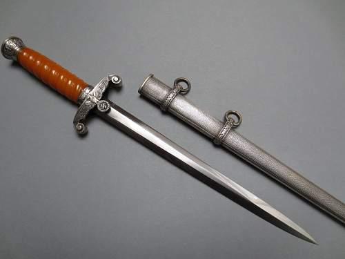 Eickhorn army dagger with glass grip