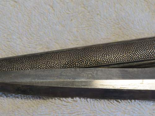 Nazi WW2 Army Officer sword / dagger
