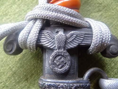 Alcoso Heer Officer Dagger