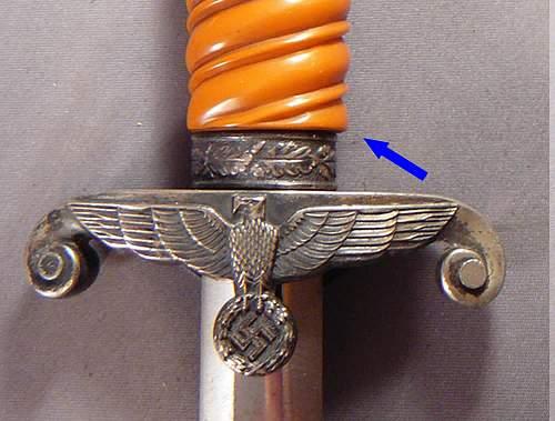 Army Dagger modified?