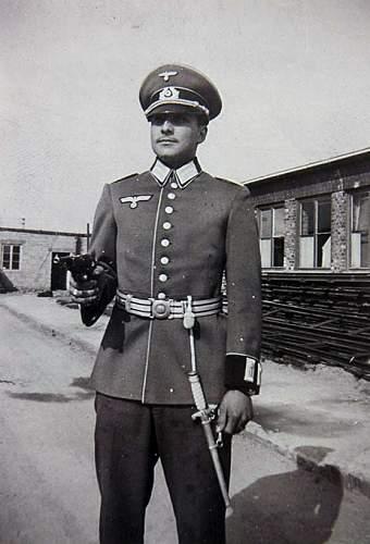 Anton Wingen 1st Crossguard - Army Dagger