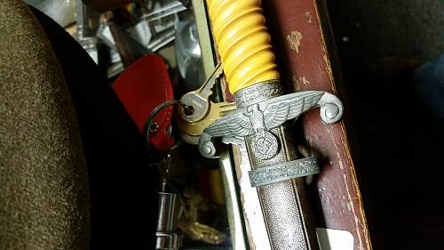 Army Officer's Dagger - Reproduction?