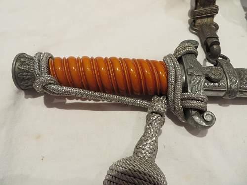 WKC army dagger