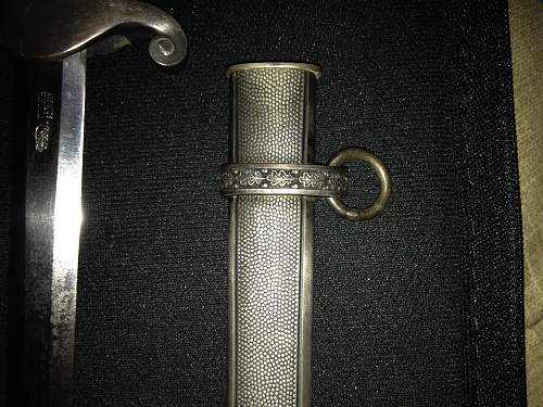 Army Dagger by Tiger: Real, Repro or Parts Dagger?
