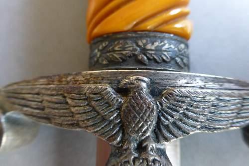 Slant Heer dagger by SMF so called -Eisenkopf-Ironhead-