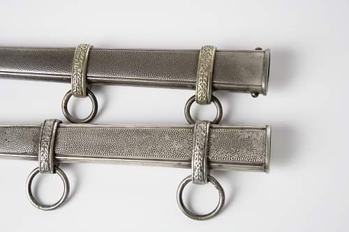 Two heer daggers