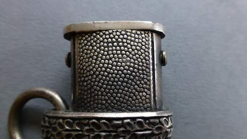Heer dagger by Paul Seilheimer with 1st pattern WKC enhanced fittings
