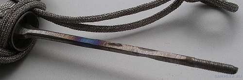 Wingen Army Dagger.Original?