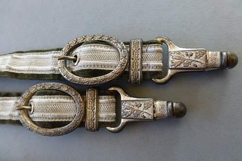 Heer dagger Eickhorn 3th pattern in mint condition