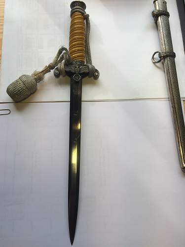 Heer dagger by FW Holler