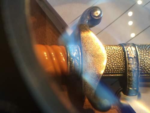 Miniature heer dagger info