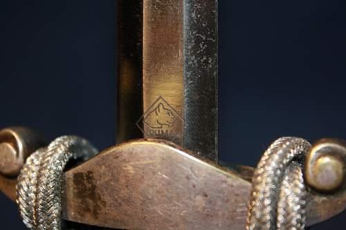 Puma Army Dagger