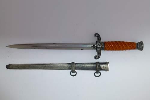 Heer dagger WKC 1st pattern slant grip