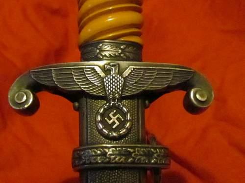 My New WMW Heer dagger