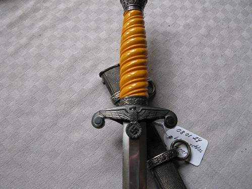 Need help with two heer daggers