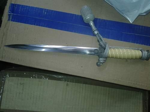 dagger wehrmacht  orginal?