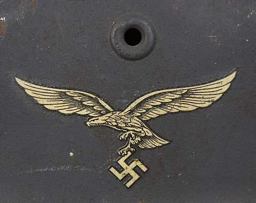 Decals found on Quist Luftwaffe helmets
