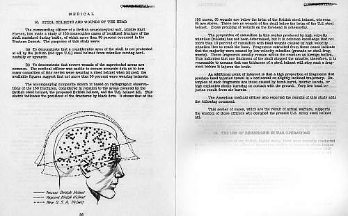 Click image for larger version.  Name:M1 Helmet report Jan 1943.jpg Views:100 Size:217.4 KB ID:1000937
