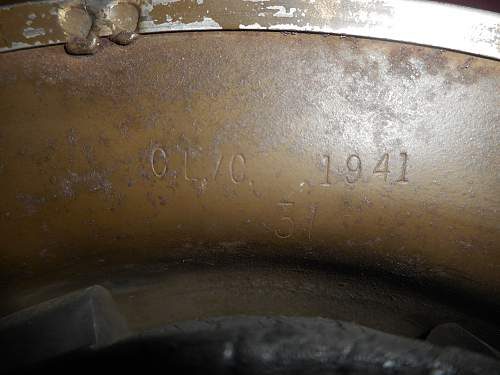 Click image for larger version.  Name:Canadian WW2 helmet 003.jpg Views:13 Size:320.8 KB ID:1003643