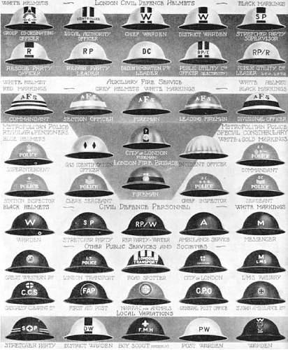 British homefront helmet markings