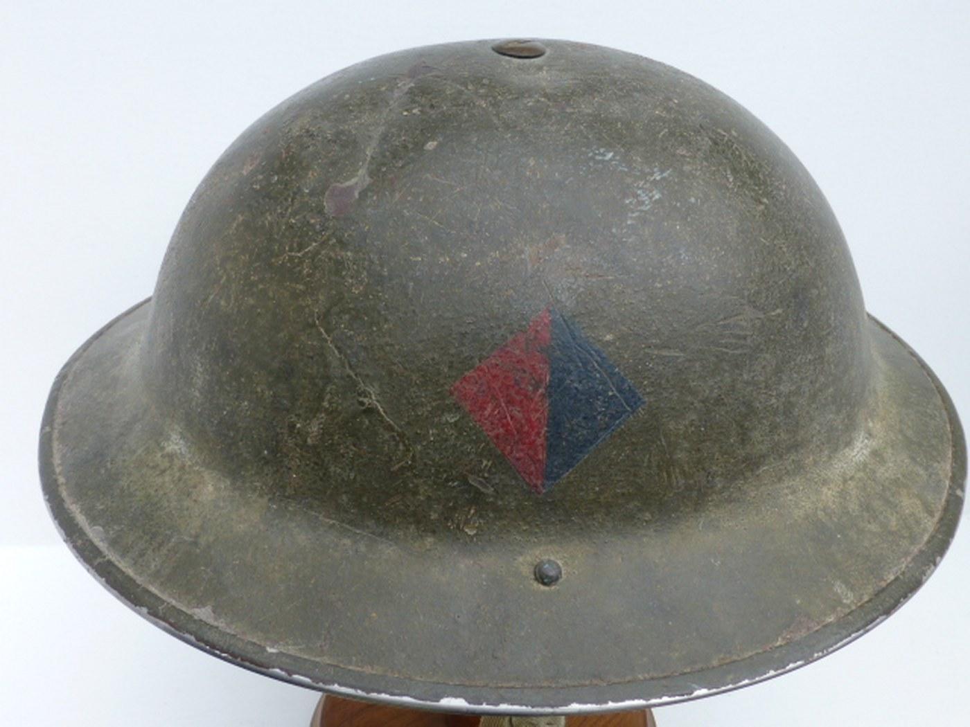 Ww1 british helmet insignia