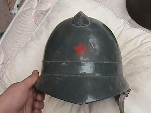 wooden slovenian adrian style helmet?