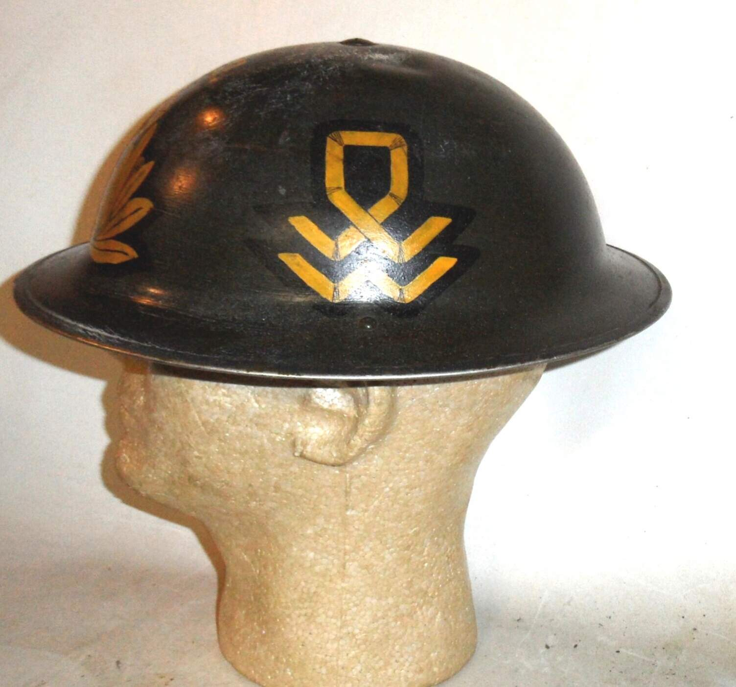 Ww2 British And Commonwealth Helmet Markings And Badges