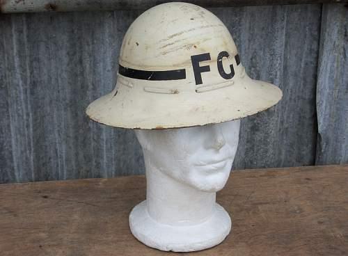 Senior Fire Guard Helmet