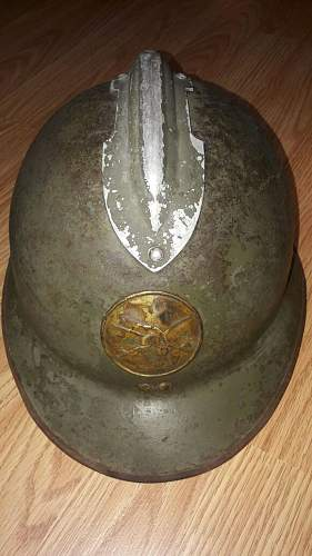 Mexican M26 Adrian Infantry & Cavalry Helmets