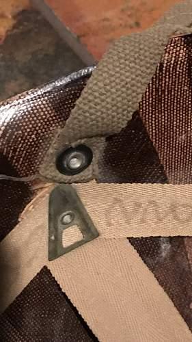Paratrooper helmet liner.