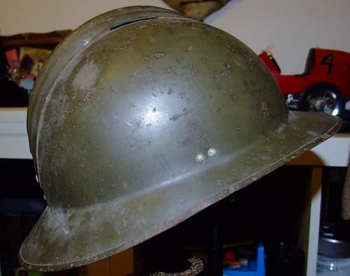 French model 1926 helmet