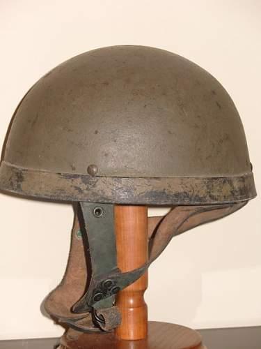 help with ww2 british airborne helmet