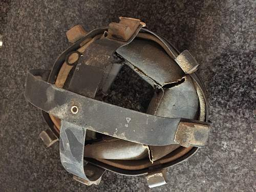 British, Desert rats/7th armored MkII helmet, North Africa Original?