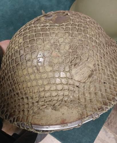 Help with helmet.