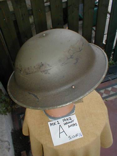British ww2 combat helmet?