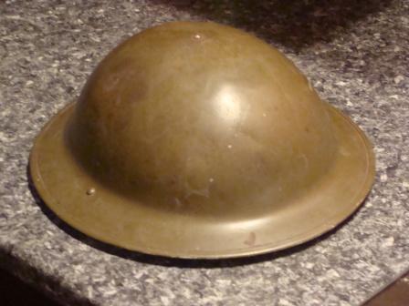 WW2 Canadian Helmet, needing help identiying some markings