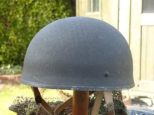 British WW2 Fibre Rim Para Helmet