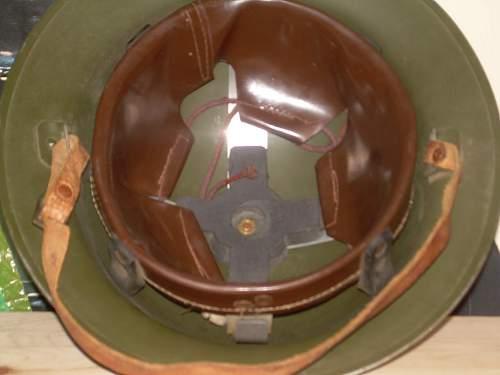 British Mk 1 or 2 Helmet