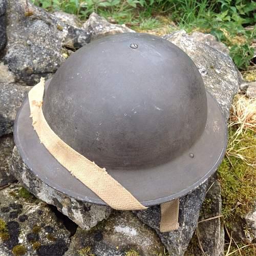 Mk 2 British Helmet paint / texture advice?