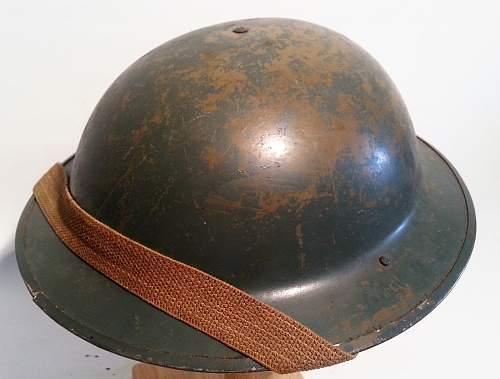 WW2 British Royal Navy Mk2 Helmet