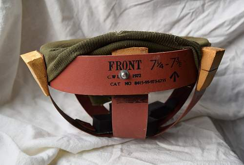 "British Mark IV Mk4 ""Turtle"" helmet"