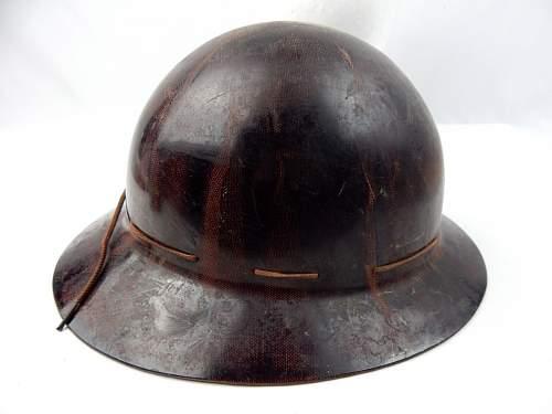 Unknown Fiber Helmet Identification