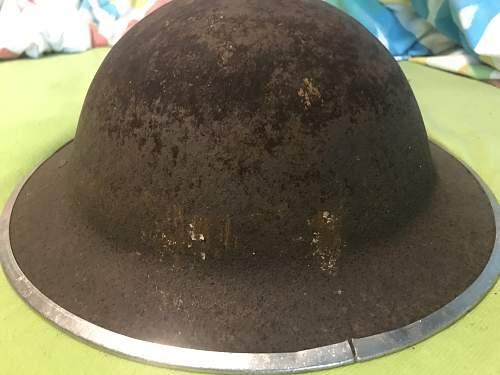 my second british MK2 helmet