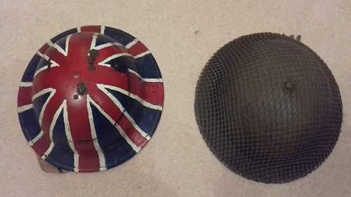 British Helmet Identification