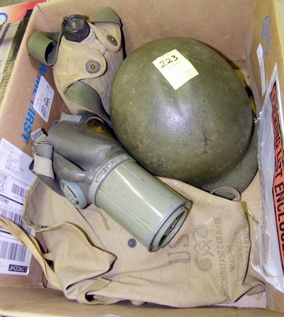 helmet and gear