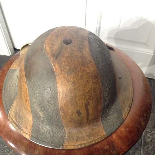 WWII Canadian Camo MkII CLC 1941 Helmet