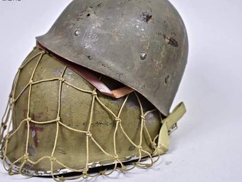 US M1 Helmet Pacific Theater Viscant paint