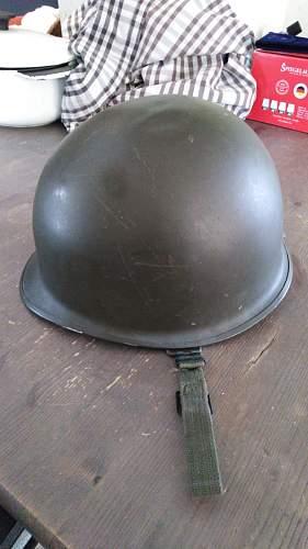 Identifying a M1 helmet