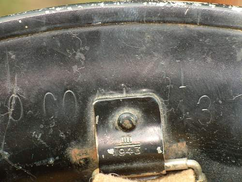Question.....British 1942 helmet with Mk III stamps