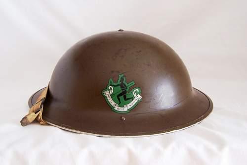 Opinions on this Canadian MK II helmet flash?